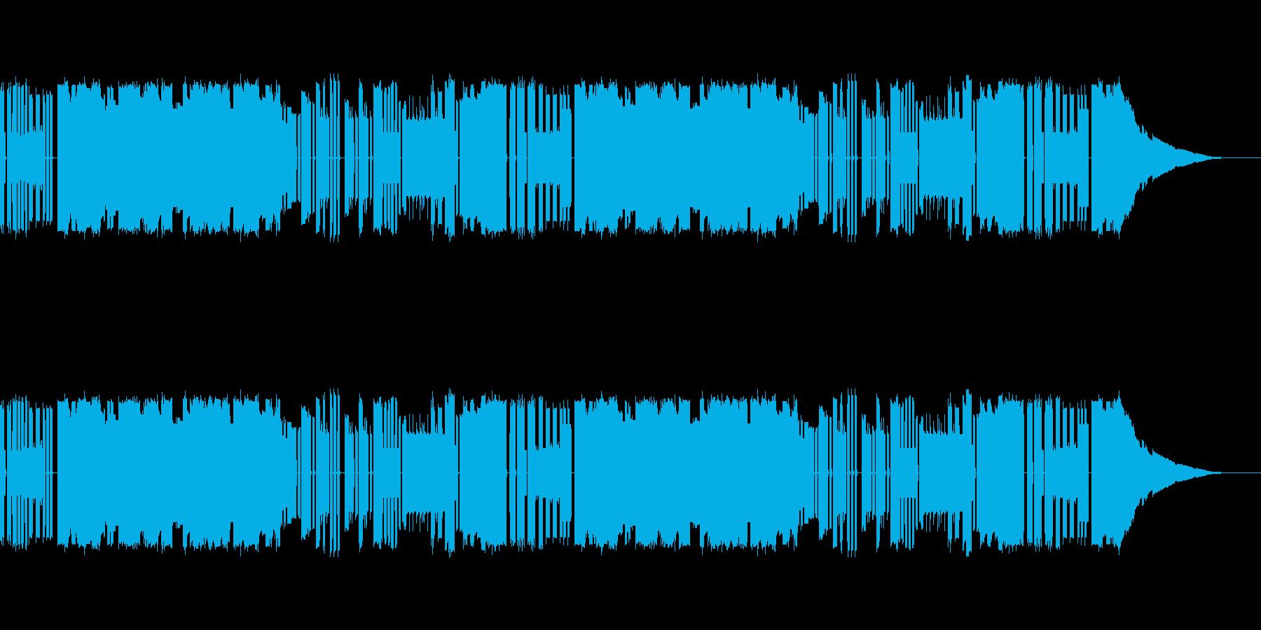 ファミコン和風チップチューンの再生済みの波形