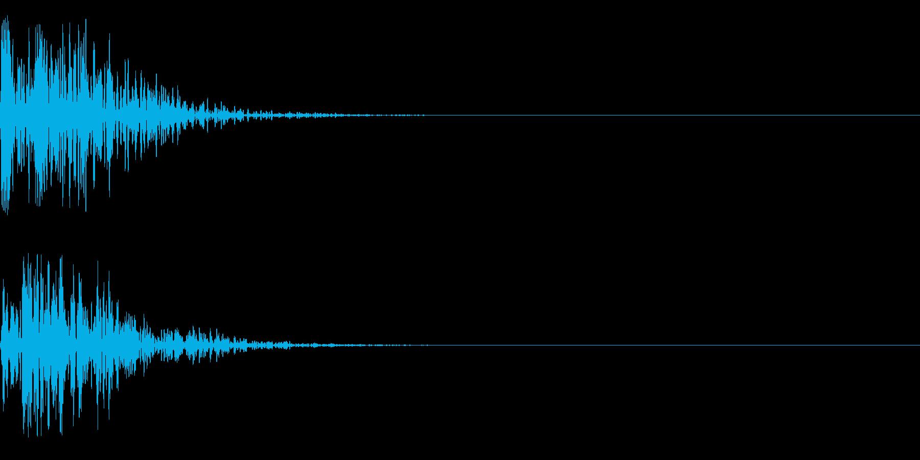 ドゥンの再生済みの波形