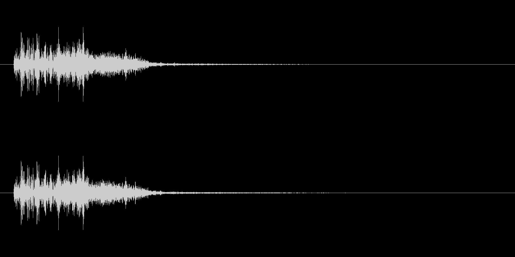 トゥルルルルル/アコギ上昇音、回復、電話の未再生の波形
