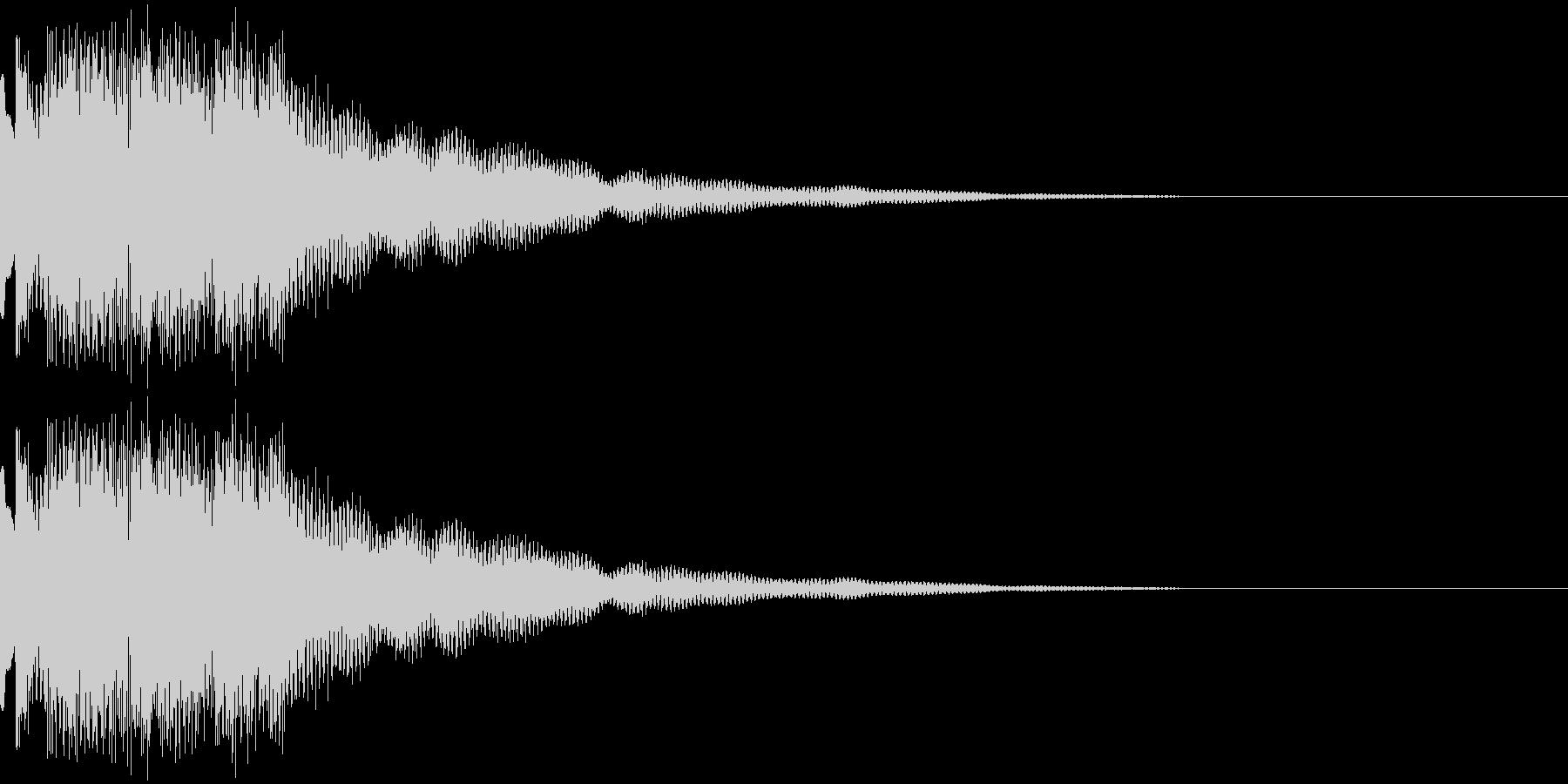ティロロンティロロンティロロンの未再生の波形