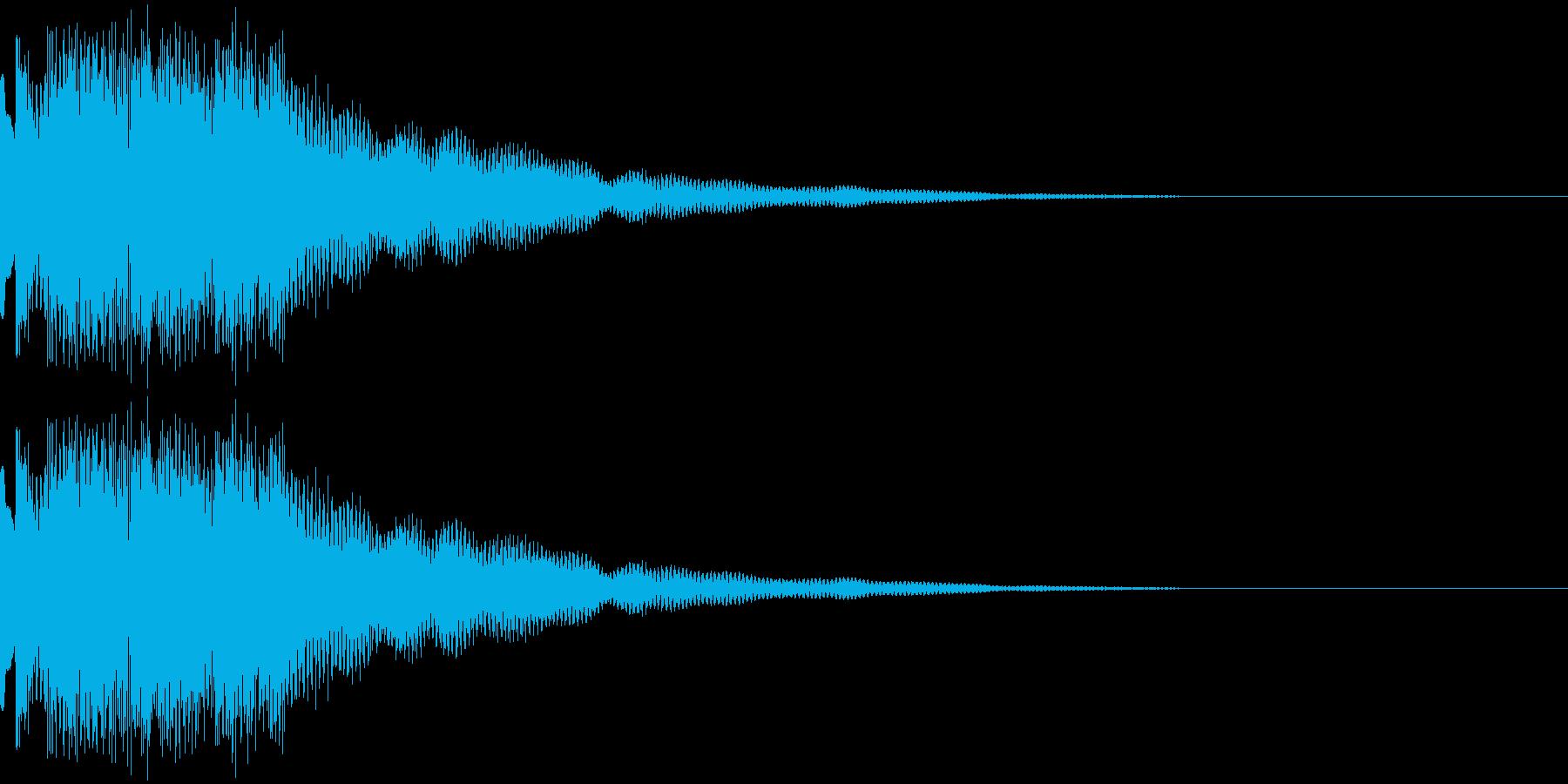 ティロロンティロロンティロロンの再生済みの波形