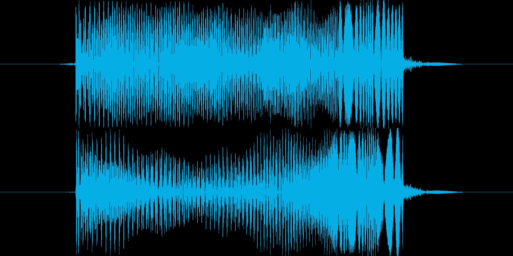 ポョンの再生済みの波形