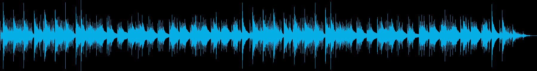 心地よいギター旋律のヒーリング系バラードの再生済みの波形