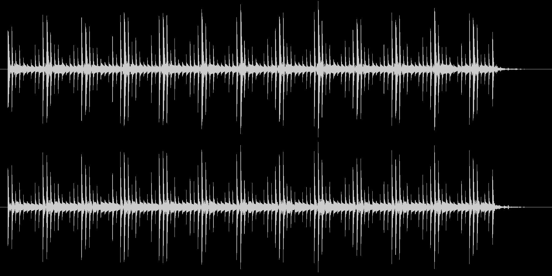ピロリンピロリンの未再生の波形