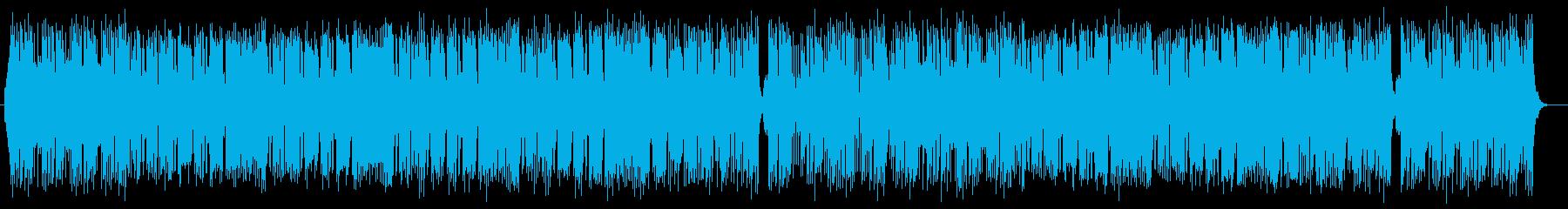 爽やかでアーバンなシンセサイザーサウンドの再生済みの波形