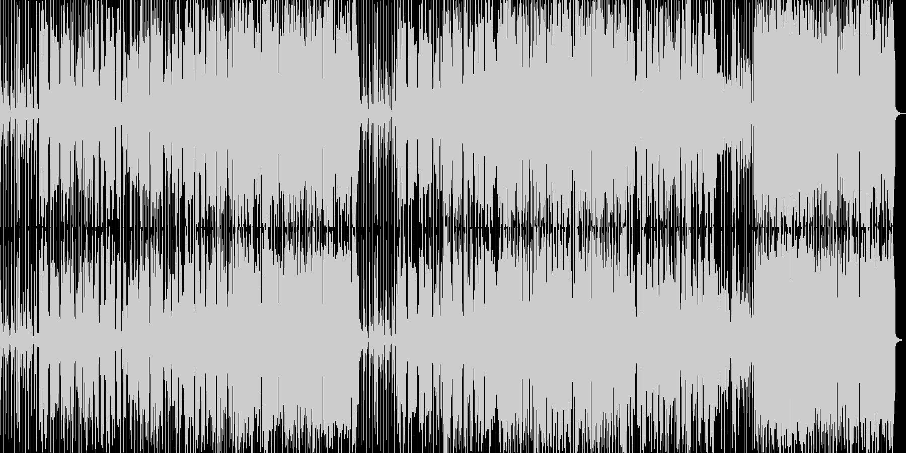 ヒップホップ風のリズムのR&Bバラード2の未再生の波形