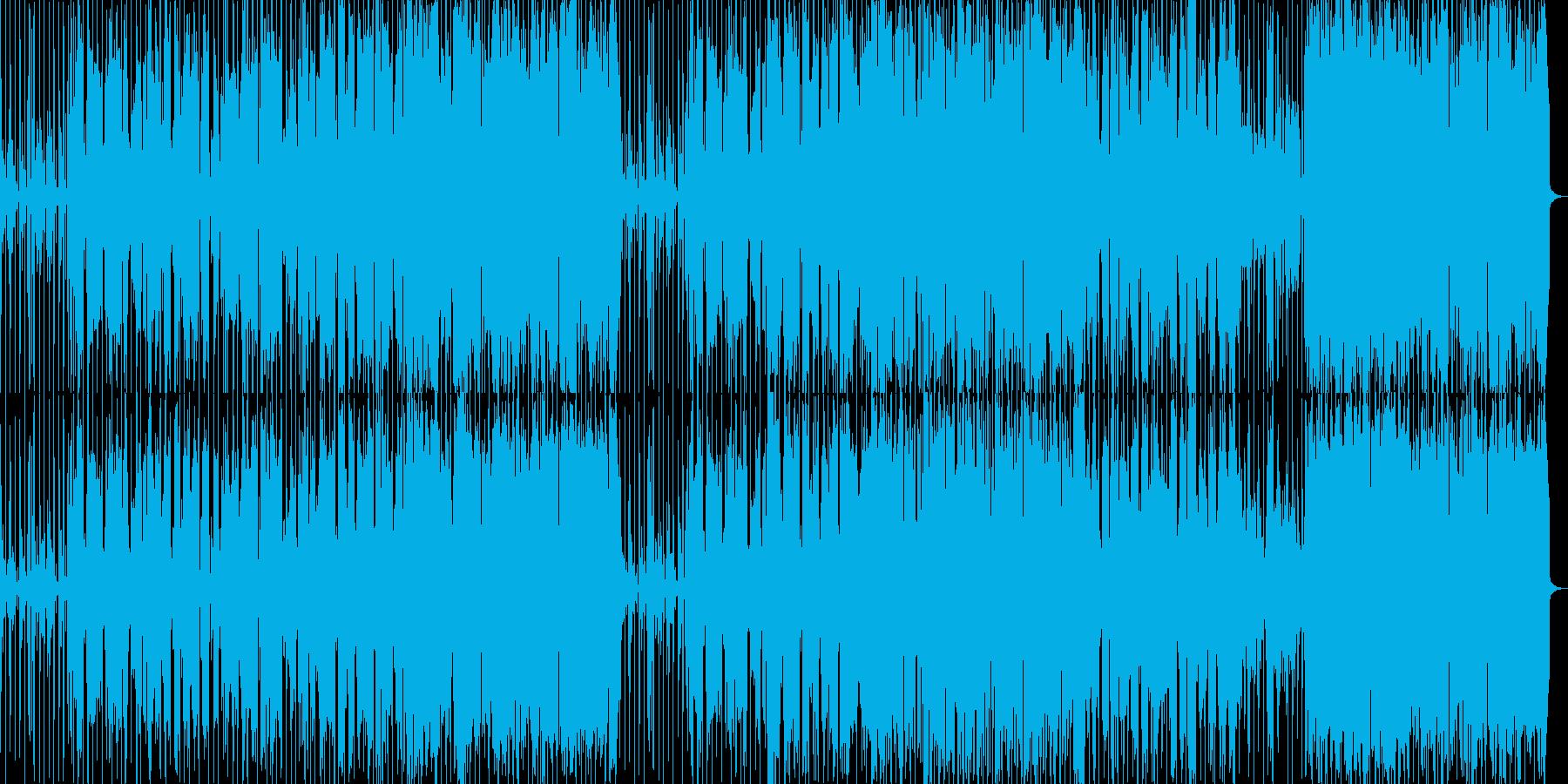 ヒップホップ風のリズムのR&Bバラード2の再生済みの波形