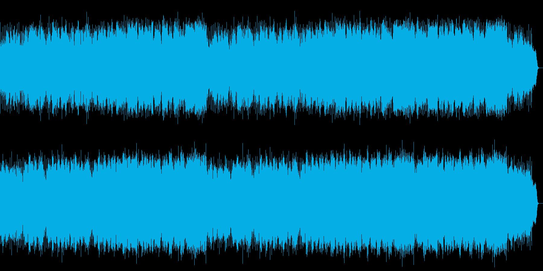 切なくも希望を感じるリズムとSAXの旋律の再生済みの波形