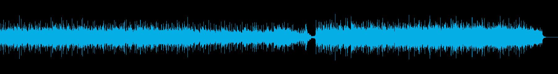 儚く切ないアコースティックバラードの再生済みの波形
