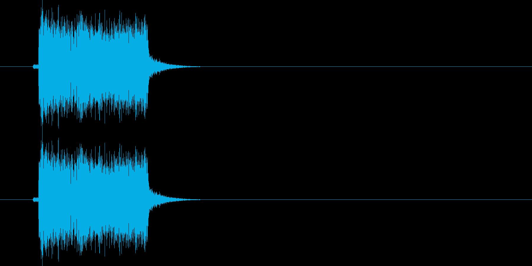 ギターフレーズ020の再生済みの波形