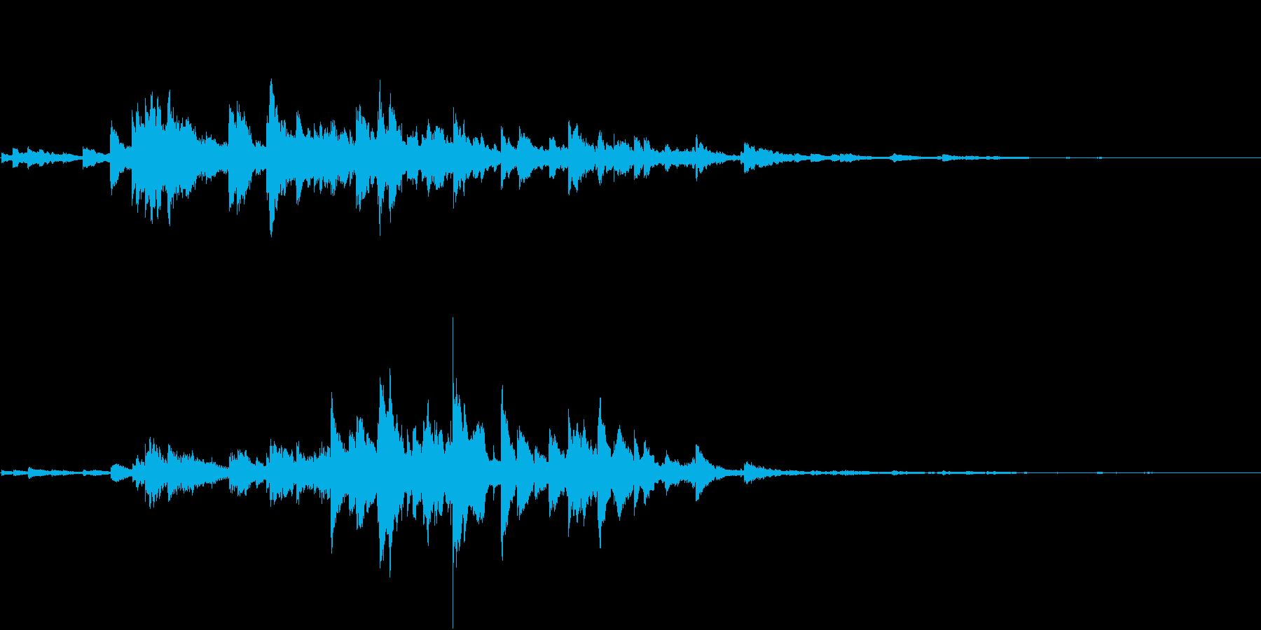 音侍SE「キラキラリーン」小ぶりベル_1の再生済みの波形