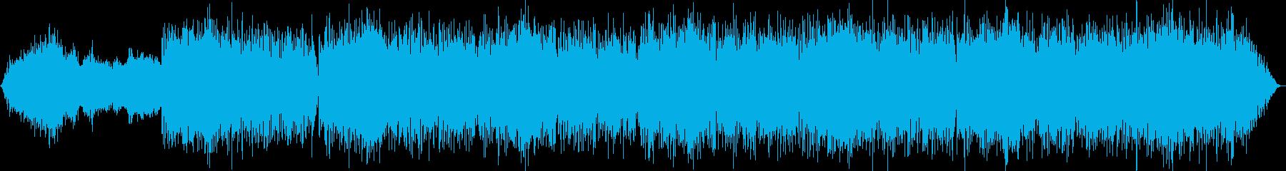 癒し系ヒーリングBGMの再生済みの波形