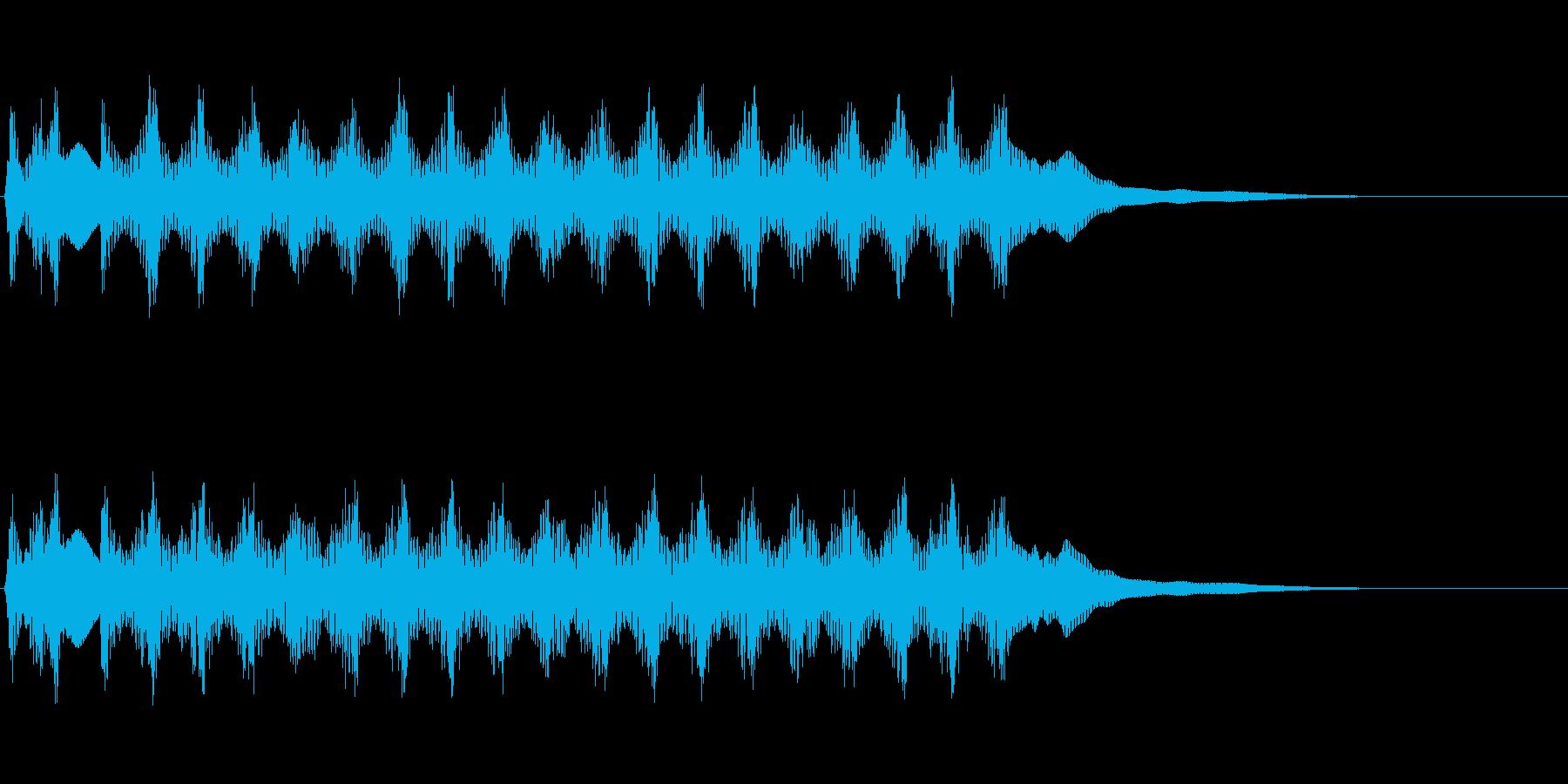 【SE 効果音】ビームの再生済みの波形