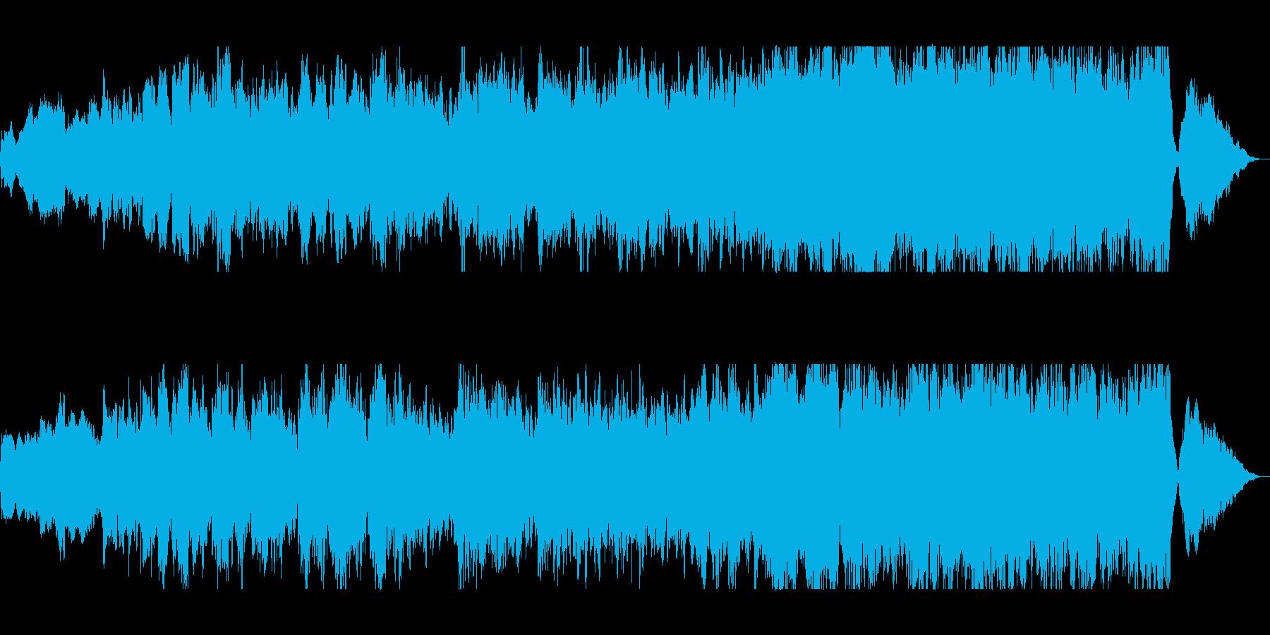 映画のBGMの様な女性ボーカルの曲の再生済みの波形