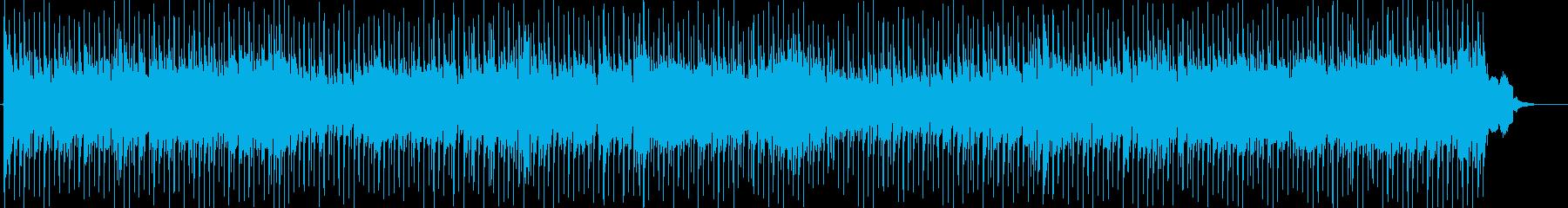 キラキラ爽やかで切ない冬のアイドルポップの再生済みの波形