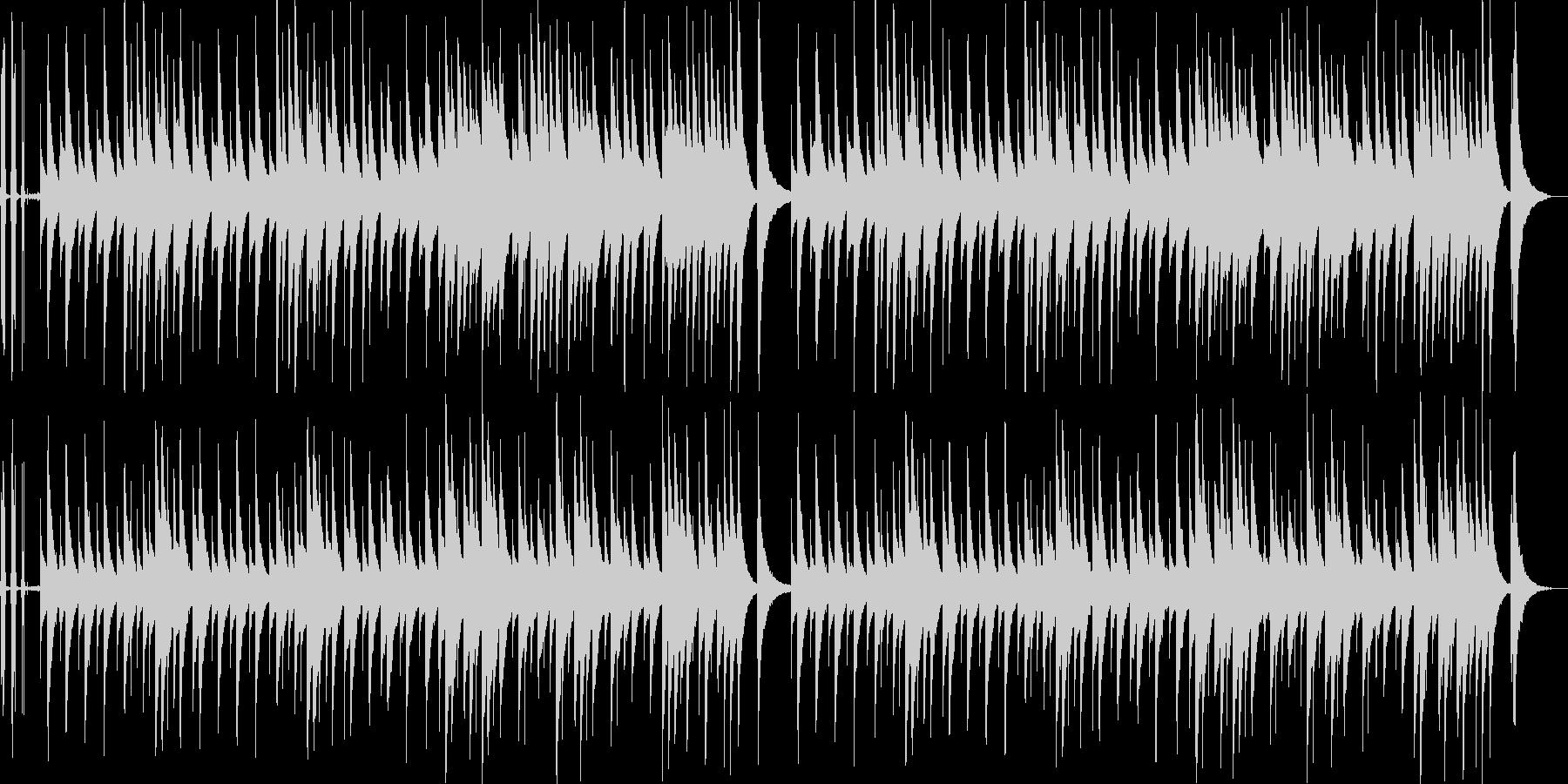 ジムノペディのオルゴール音源ネジの音付きの未再生の波形