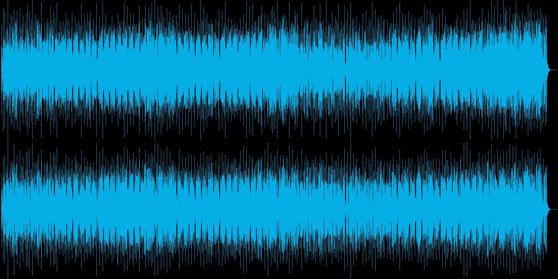 明るい雰囲気のミドルテンポポップスの再生済みの波形