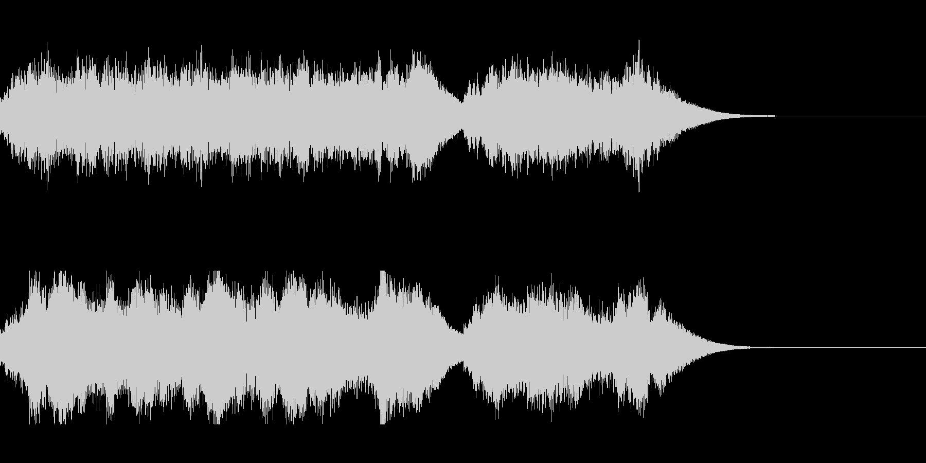 発車メロディ5の未再生の波形