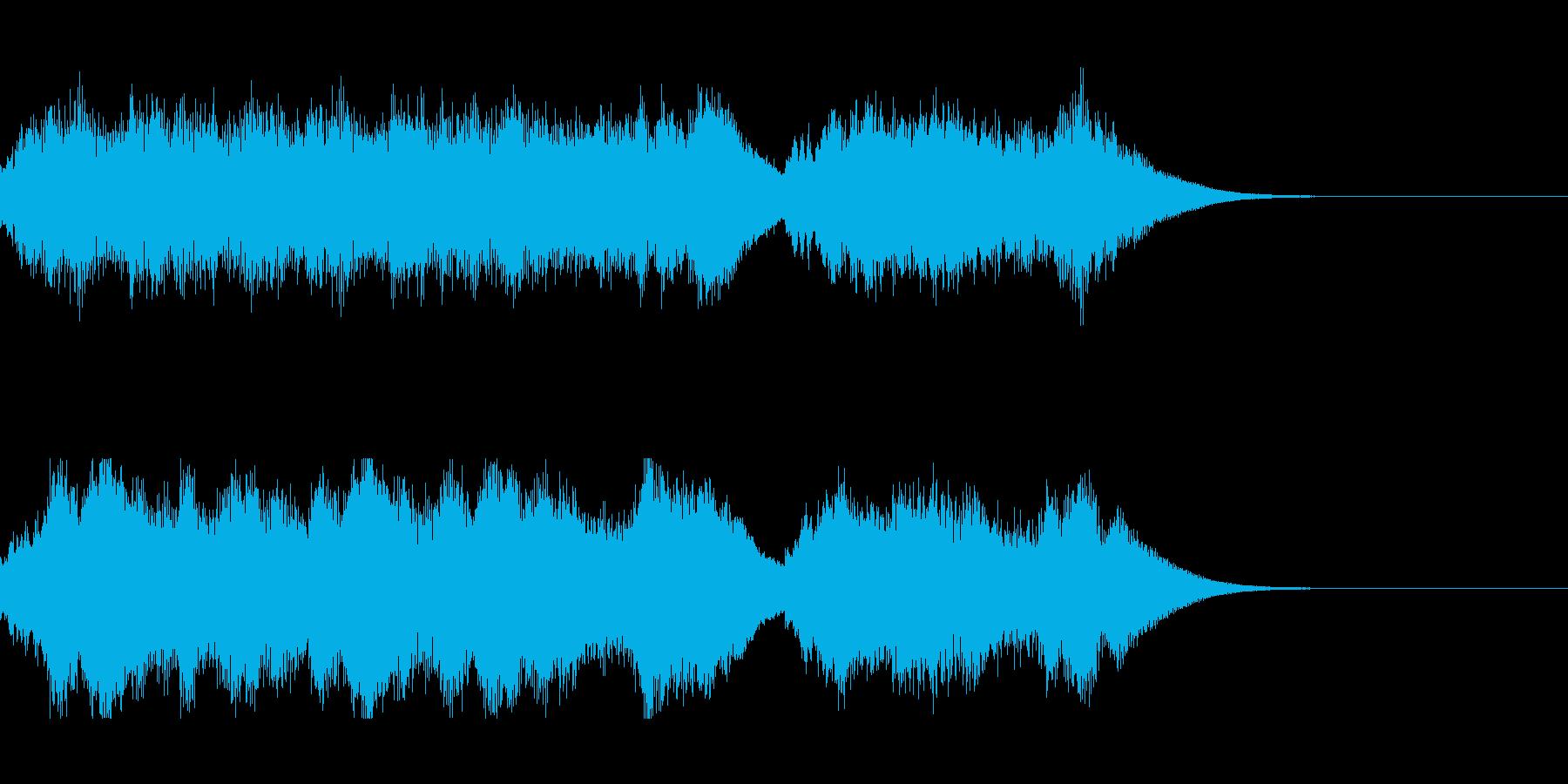 発車メロディ5の再生済みの波形