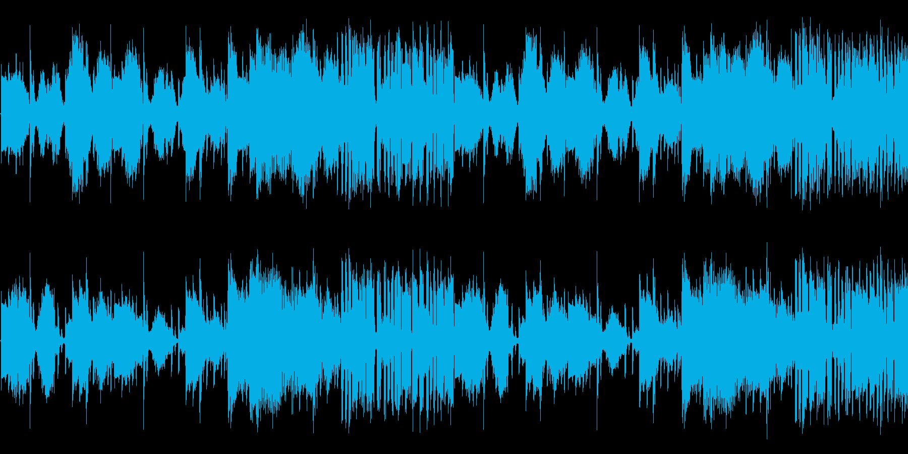 【おしゃれなラウンジJAZZ】の再生済みの波形
