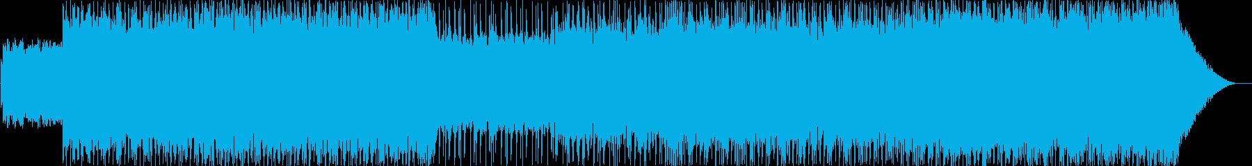 爽やかでカラッとしたアメリカンロックの再生済みの波形