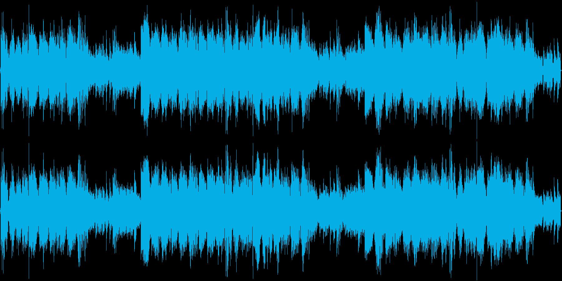 パーカッションDubstepの再生済みの波形