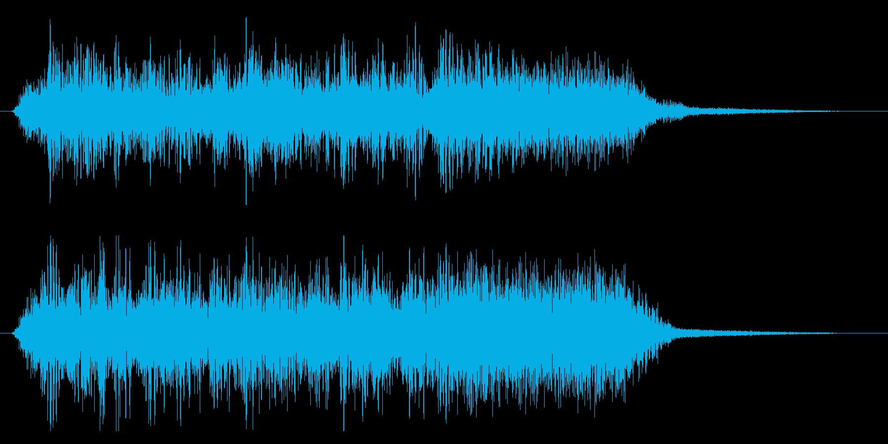 メタル/ハードロック/ジングル/場面転換の再生済みの波形