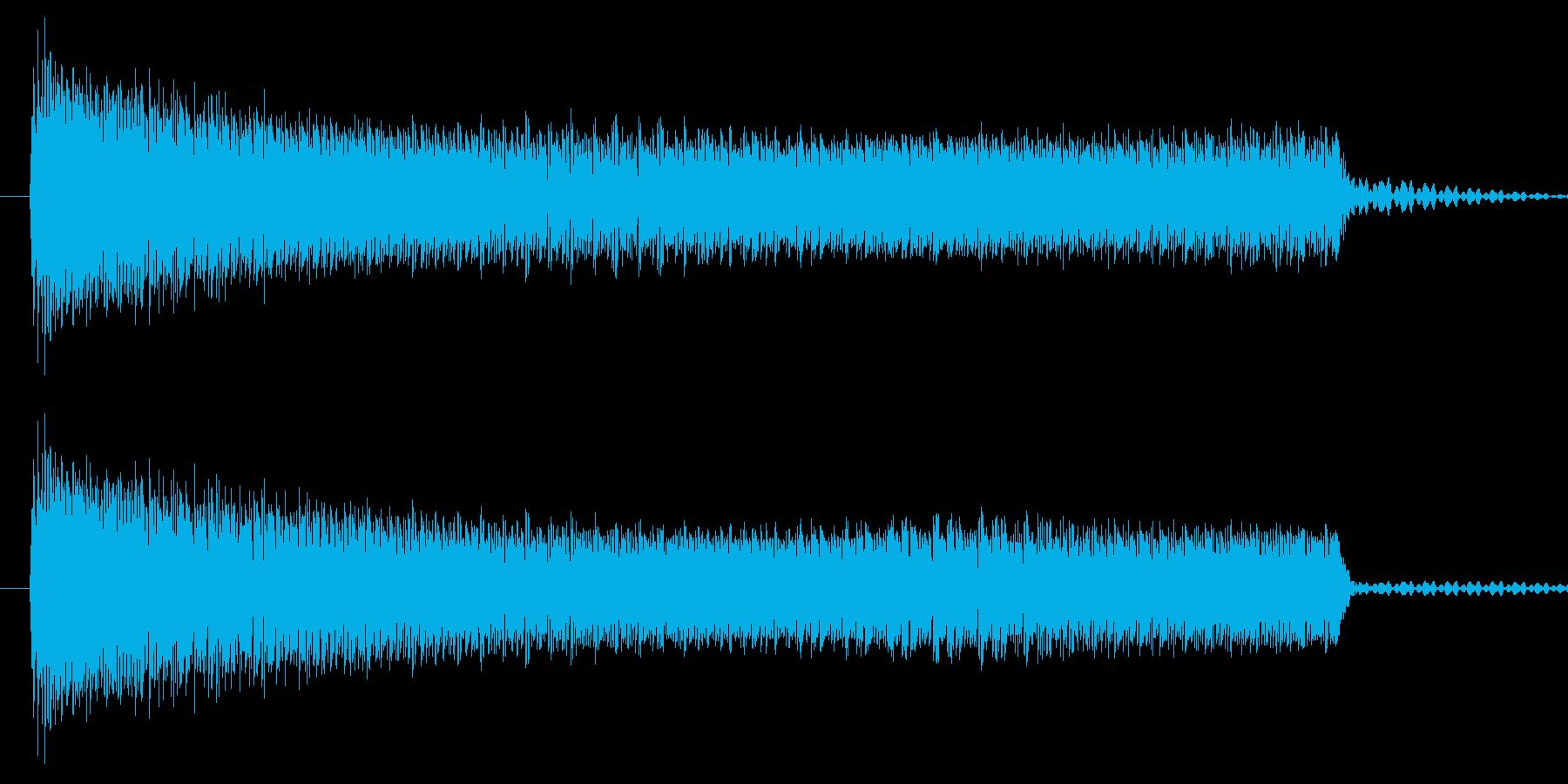 ブーッ/間違い/クイズの再生済みの波形