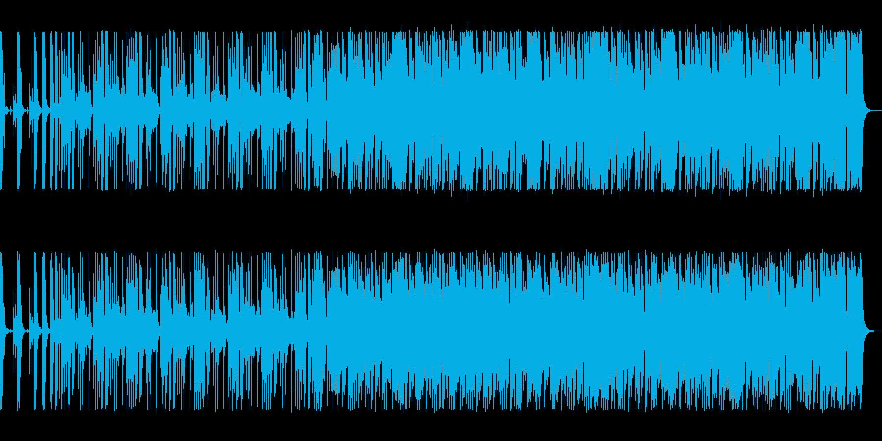 軽快なブラスジャズサウンドの再生済みの波形