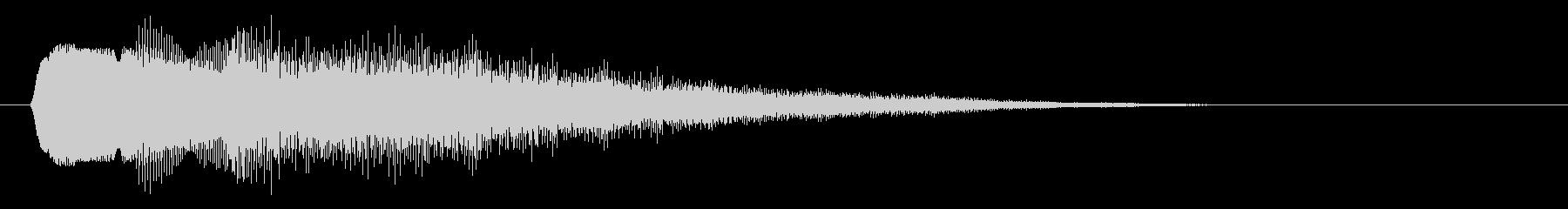 キラキラ/タッチ/星の未再生の波形