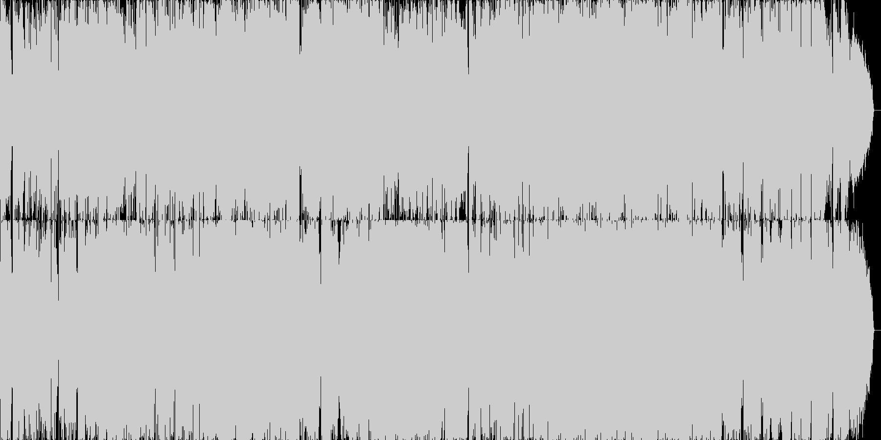 京都をイメージしたフォークソングの未再生の波形