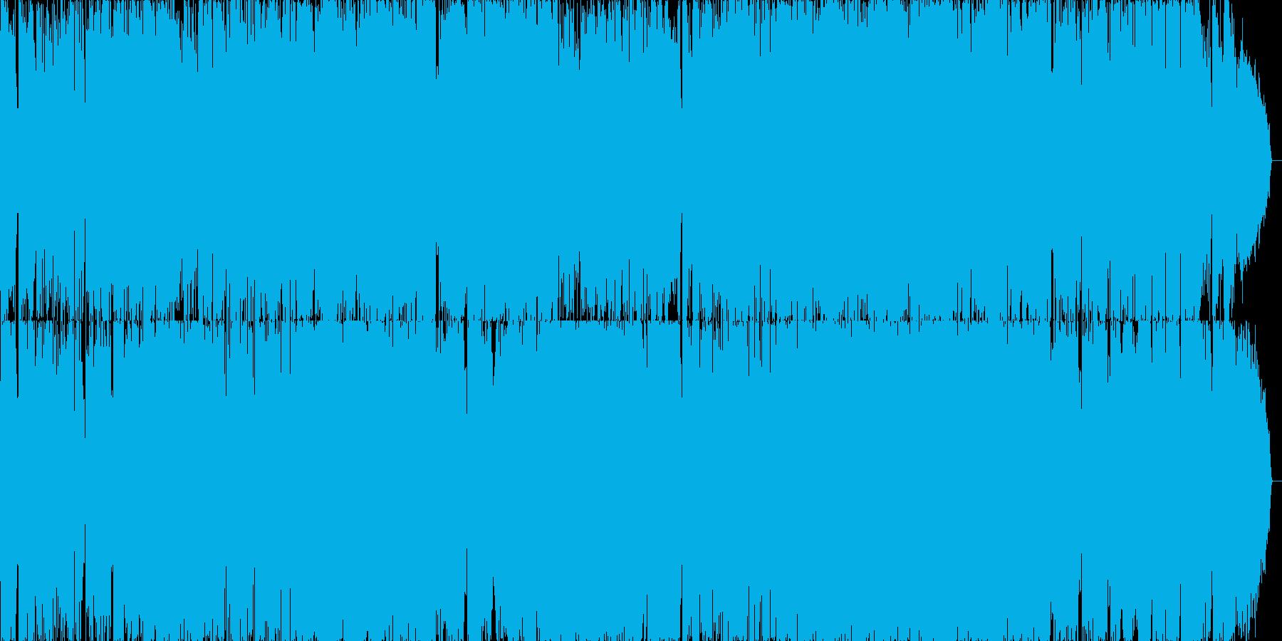 京都をイメージしたフォークソングの再生済みの波形