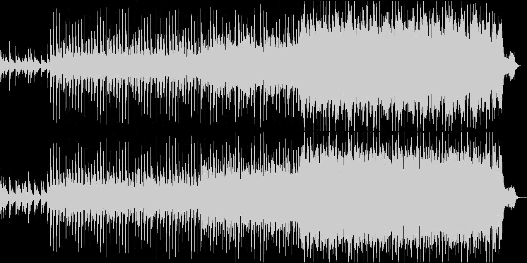 ピアノが印象的なノリが良く明るい曲 の未再生の波形