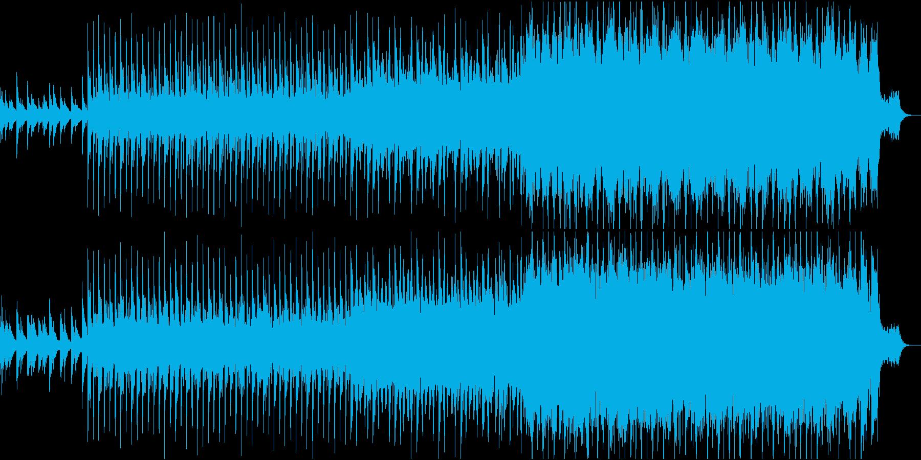 ピアノが印象的なノリが良く明るい曲 の再生済みの波形