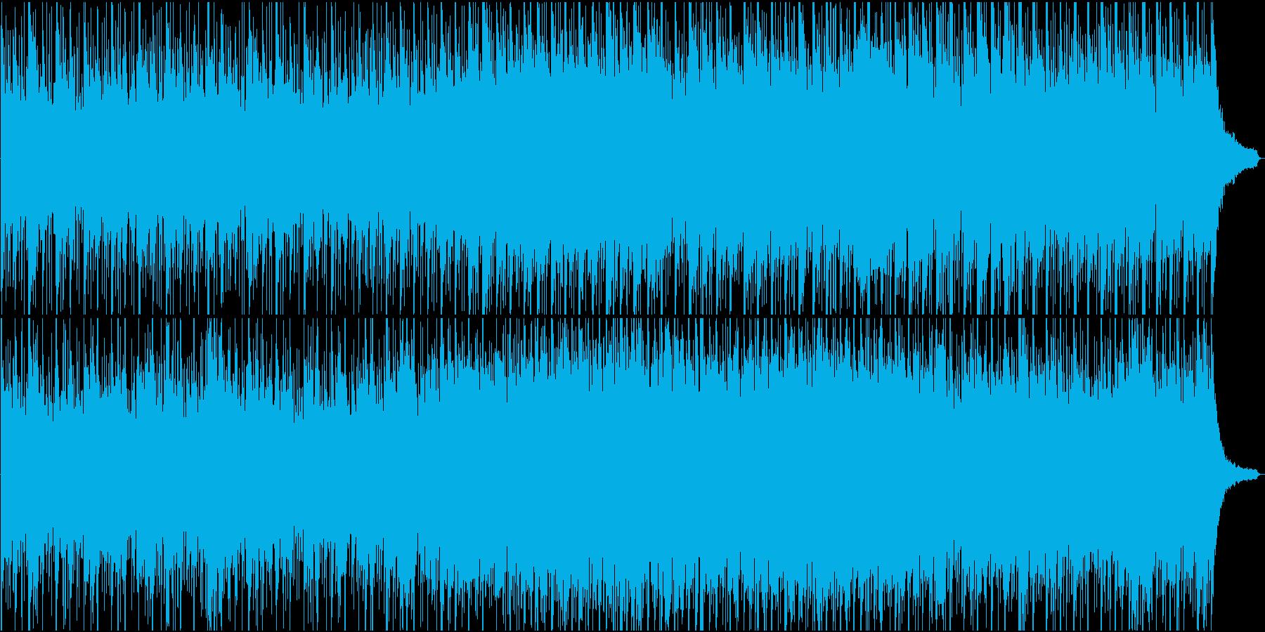 ポールモーリアBGM風の曲をトルコ風にの再生済みの波形