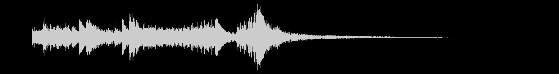 ファンタジー、メルヘンチックなジングルの未再生の波形