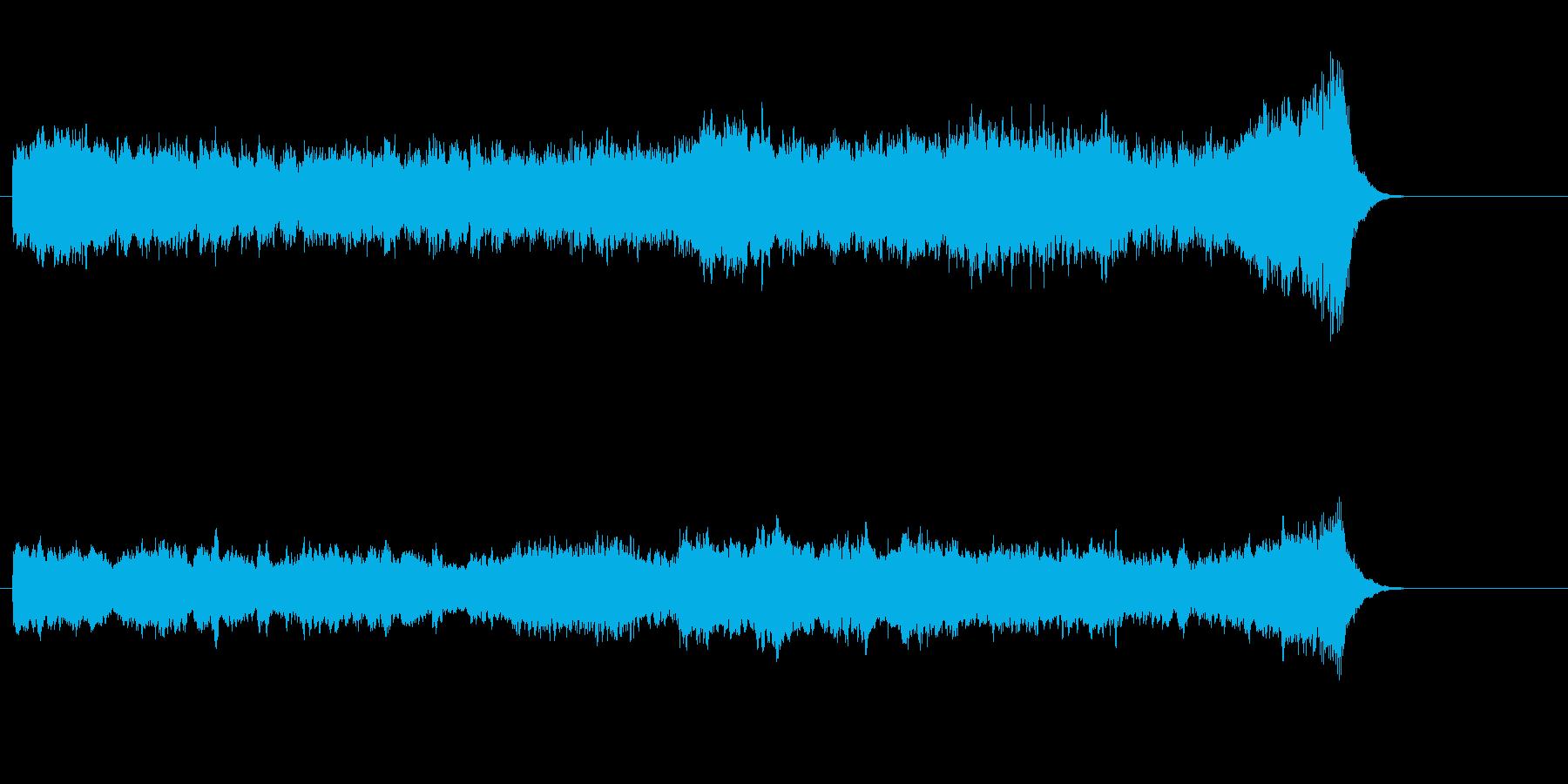 精神的ストレス解消ファンタジーサウンドの再生済みの波形