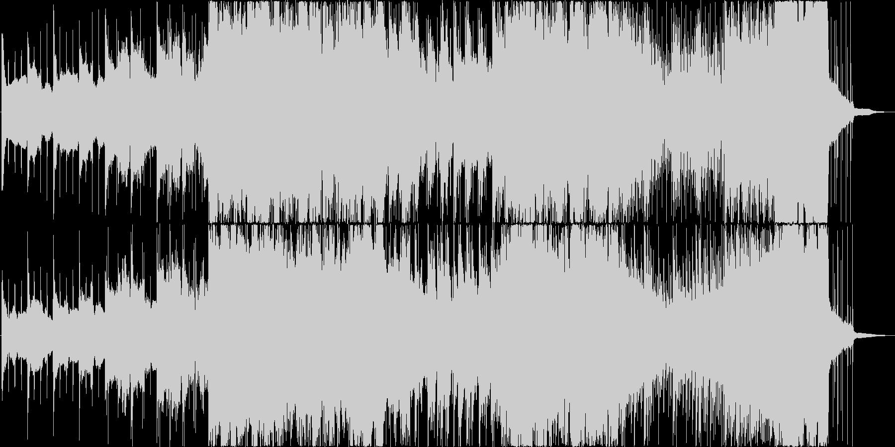 ゆったりしたピアノバラードの未再生の波形
