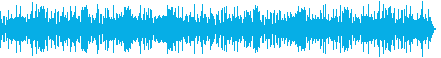 コミカルなハロウィンの曲の再生済みの波形