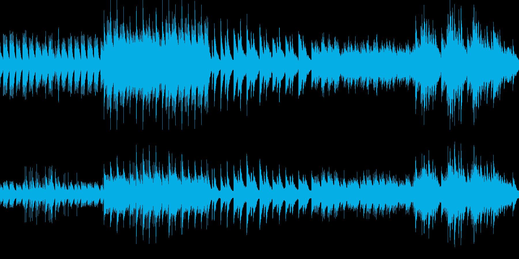 切ないメロディーのピアノソロ曲(ループ)の再生済みの波形
