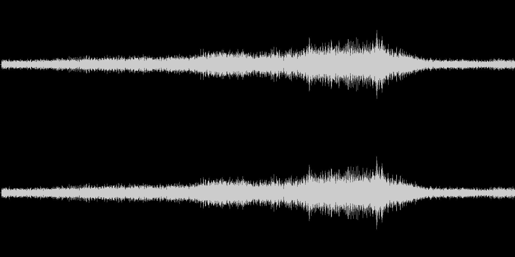 ビビビ(バリアの音)の未再生の波形