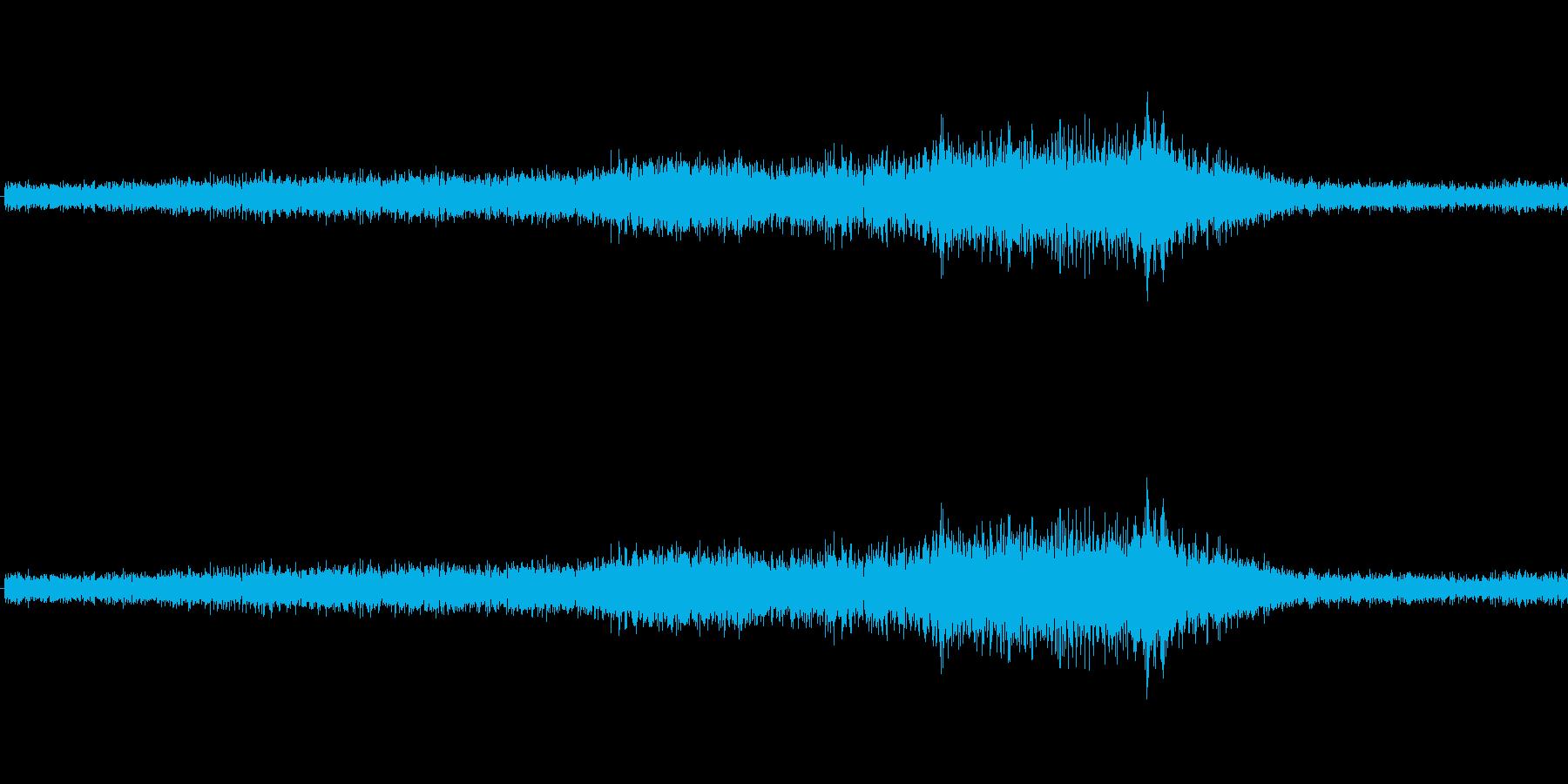 ビビビ(バリアの音)の再生済みの波形