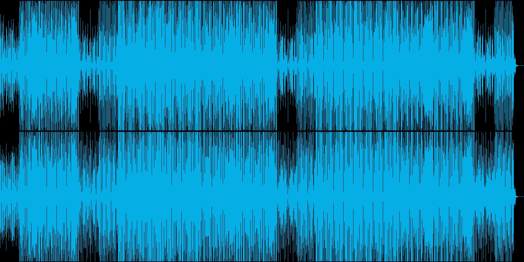 ブラスが70'~80'年代のディスコの再生済みの波形