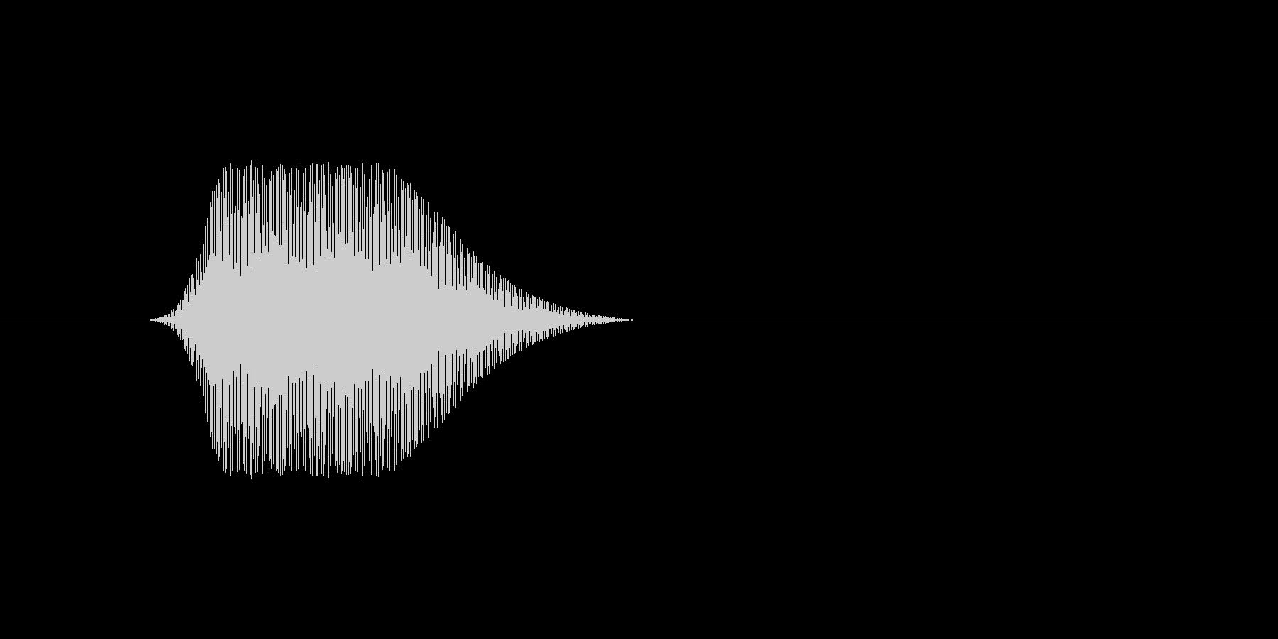 ファミコン風効果音カーソル系です 12の未再生の波形