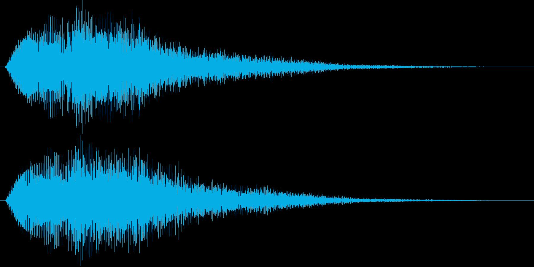 ジャジャンの再生済みの波形