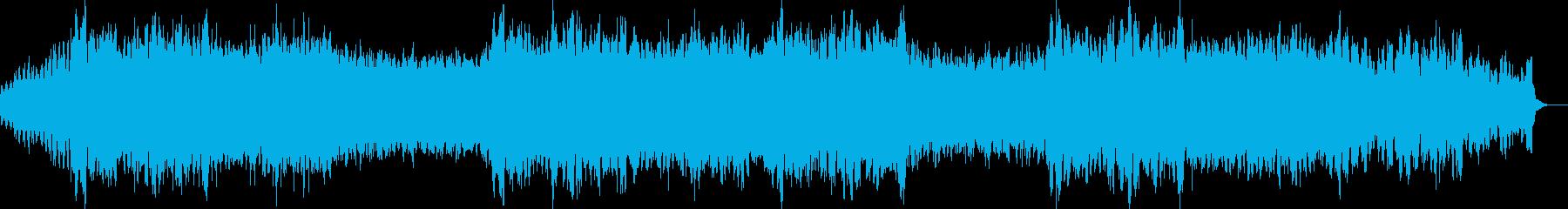始まりを予感させるオーケストラBGMの再生済みの波形