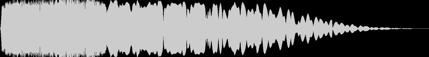 光『きゅいーん』_05の未再生の波形