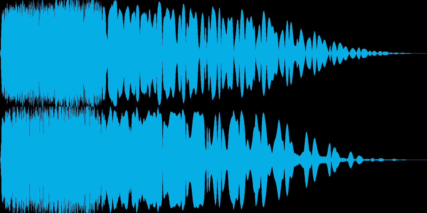 光『きゅいーん』_05の再生済みの波形