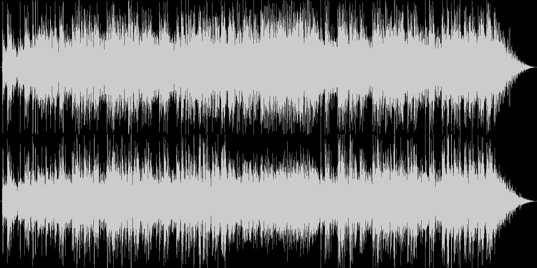 ミディアムテンポのギターポップスの未再生の波形