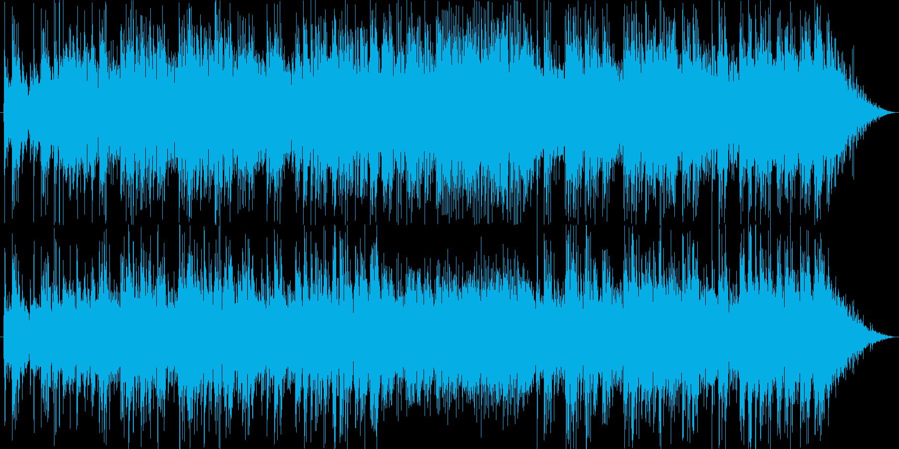ミディアムテンポのギターポップスの再生済みの波形
